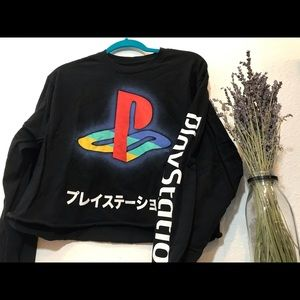 PlayStation Long Sleeve Crop